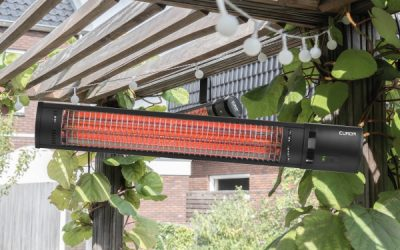 Terrasverwarmer 25% korting